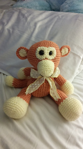 Ravelry: Amigurumi Grape Ape Monkey CAL pattern by ...