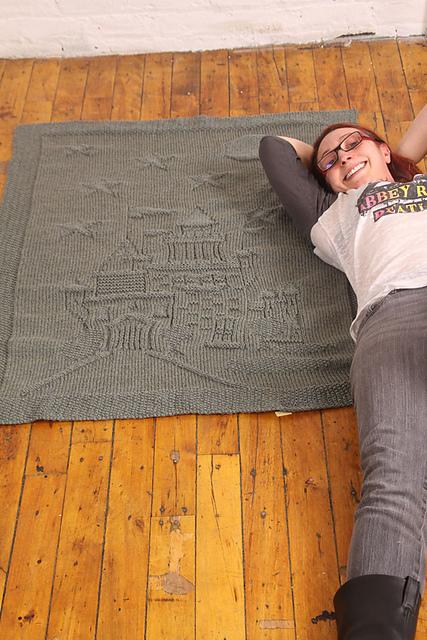 """儿童针织毛毯""""阿富汗的魔法城堡"""" - maomao - 我随心动"""
