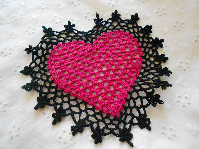 Free Crochet Patterns For Mini Doilies : 365 Crochet