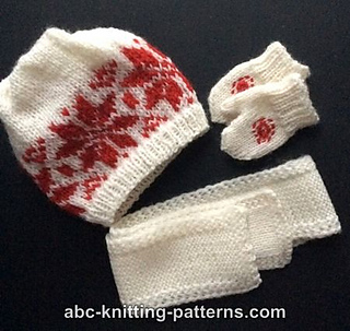 Knitting Pattern For American Girl Doll Mittens : Ravelry: American Girl Doll Winter Fun Mittens and Scarves pattern by Elaine ...
