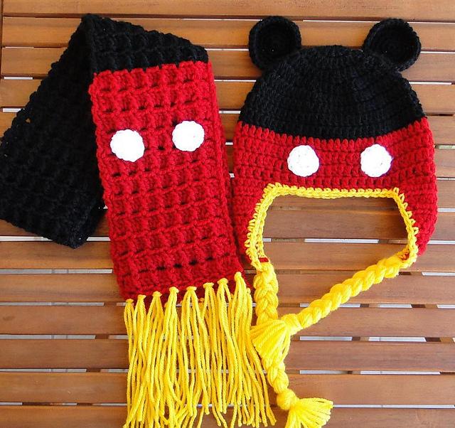 Free Crochet Pattern Mickey Hat : Mary Anns Crochet : February 2013