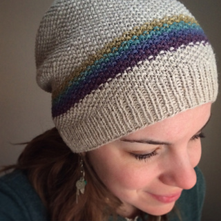 Knit Hat Stitch Calculator : Ravelry: Simple Moss Stitch Hat pattern by Halldora J
