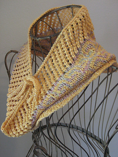 Knitting Pattern For Small Neck Scarf : Ravelry: Fretted Band Cowl pattern by Gretchen Tracy