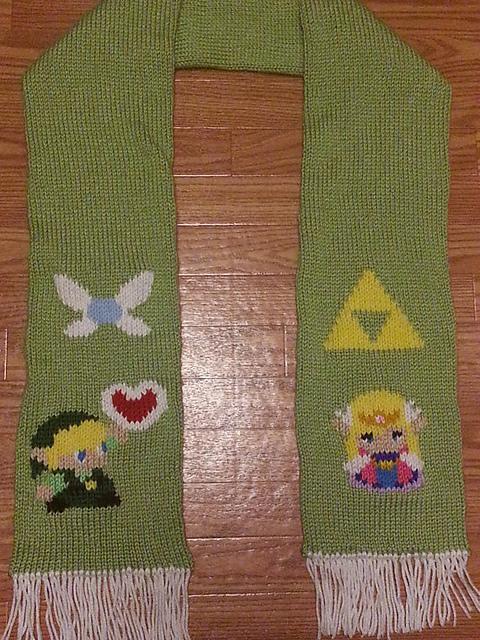 Leahs Knits: Legend of Zelda Scarf