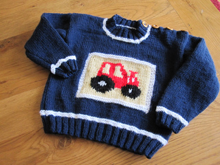 Knitting Pattern Tractor Jumper : Ravelry: Design I - Tractor Jacket and Sweater pattern by Sirdar Spinning Ltd.