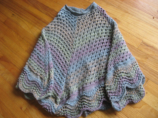 Ravelry Martha Stewart Coming Home Poncho Knit