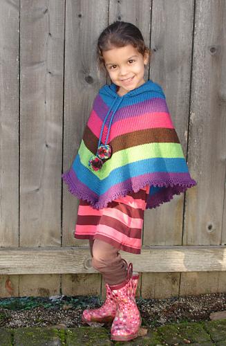 Ravelry 243 Children S Poncho Pattern By Diane Soucy