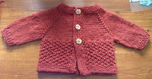 Ravelry Free Knitting Patterns Babies : Ravelry: Fuss Free Baby cardigan pattern by Louise Tilbrook