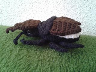 Amigurumi Beetle : Ravelry: Amigurumi Stag Beetle pattern by Charlotte ...