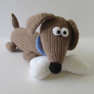 Knitting Patterns For Sausage Dogs : Ravelry: Bangers the Sausage Dog pattern by Amanda Berry