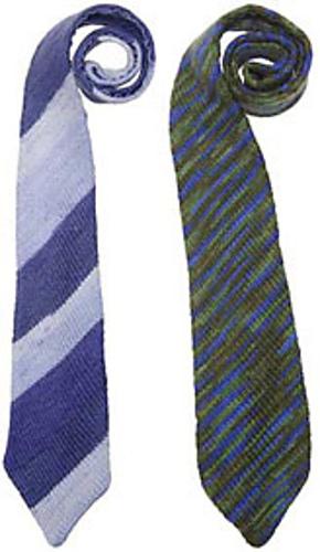 Ravelry: Mens Bias-Knit Tie pattern by Knit Picks Design Team