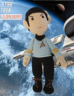 Amigurumi Star Trek : Ravelry: Mr Spock Amigurumi pattern by Gala Rebes