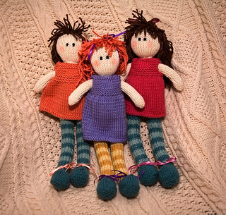 Red Heart Free Knitting Patterns For Dolls : Ravelry: Ragdoll pattern by Debbie Bliss