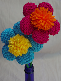 5_petal_pom_pom_center_fun_flowers_on_a_stick_2_small2