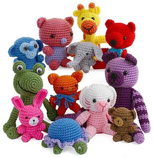 Amigurumi Websites : Ravelry: Baby Critter Amigurumi pattern by Carolyn Christmas