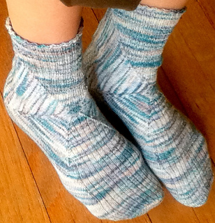 Hyperbolic Hexagon socks Ravelry