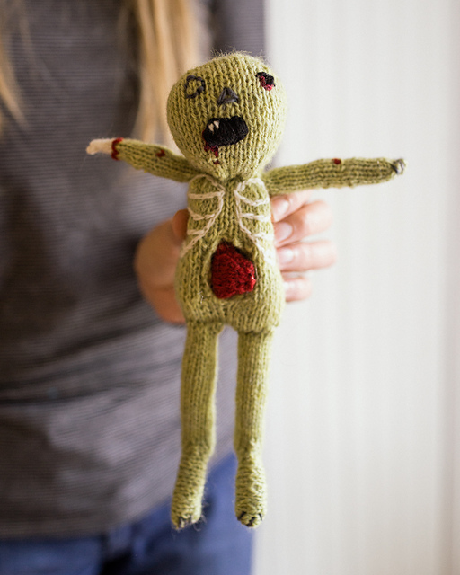 Zombie Knitting Pattern : Spooky holiday knits knitpicks staff knitting