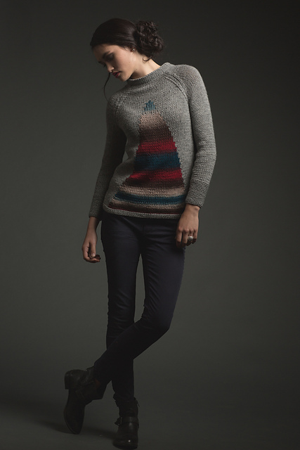 Dark Rainbow Sweater par Emma Welford