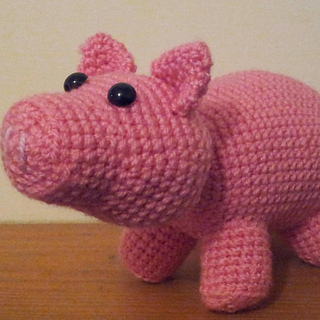 Ravelry: Pig (Hamm from Toy Story) pattern by Good Day Crochet