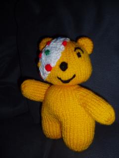 Pudsey Bear Knitting Pattern : Ravelry: Pudsey Bear pattern by Alan Dart