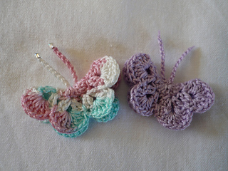 Ravelry Little Crochet Butterfly Pattern By Penny Peberdy