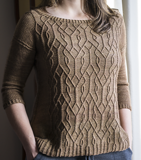 Central Knitting Pattern Library : Ravelry: Aviara Pullover pattern by Irina Anikeeva