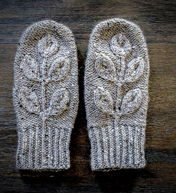 mitaines tricotées Morana Mittens par Irina Anikeeva