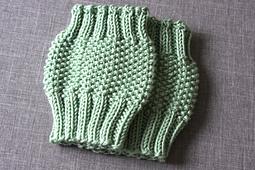 Ravelry: Moss Stitch Boot Cuff Knitting Pattern - Leg Warmer Knitting Pattern...