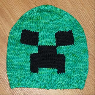 Ravelry: Minecraft Creeper Hat pattern by Jillian Thom