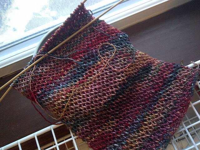Obscure Pattern Friday: Variegated : knitting