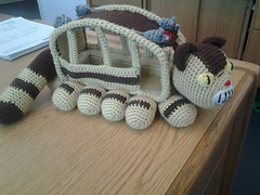 Ravelry: Cat Bus Free Crochet Pattern With Video Tutorial ...