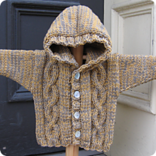 Ravelry Hooded Cable Sweater Pattern By Lorraine C Bulson