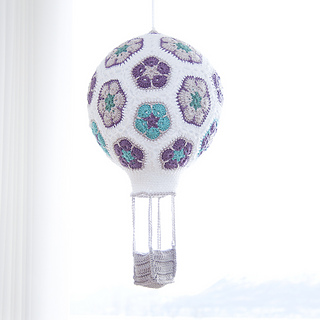 Ravelry: African Flower Hot Air Balloon pattern by Ina Rho