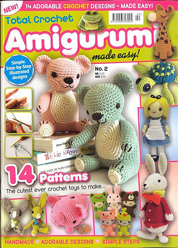 Amigurumi Crochet Magazine : Ravelry: Total Crochet Amigurumi Made Easy No. 2 - patterns