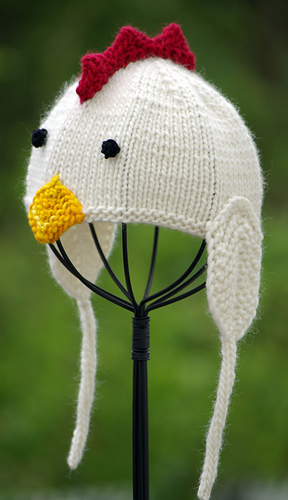 Ravelry Little Chicken Baby Hat Pattern By Irina Poludnenko