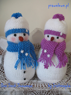 Ravelry One Sock Snowman Pattern By Irishmagda