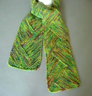 Zig Zag Scarf Knitting Pattern : Ravelry: P57 Zigzag Scarf pattern by Iris Schreier