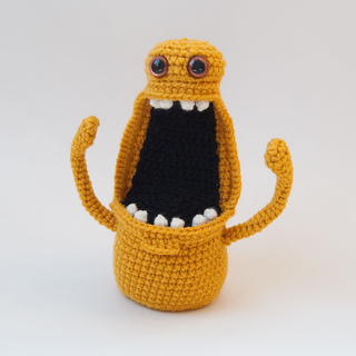 Ravelry Amigurumi Monster Floyd Pattern By Karla Fitch