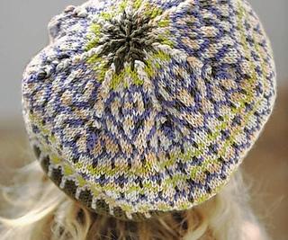 Spring Beret Knitting Pattern : Ravelry: Chic Spring Beret pattern by Jane Crowfoot