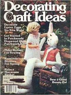 ravelry decorating craft ideas magazine march 1980