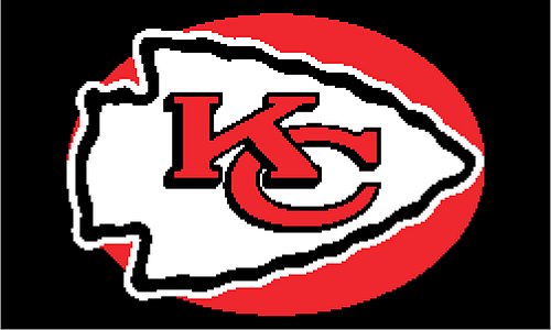 Crochet Pattern Kansas City Chiefs Afghan : Ravelry: Kansas City Chiefs Afghan Chart pattern by Erin Swan