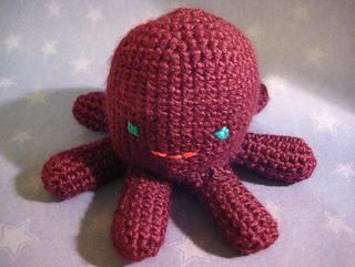 Ravelry: Amigurumi Octopus pattern by Lion Brand Yarn