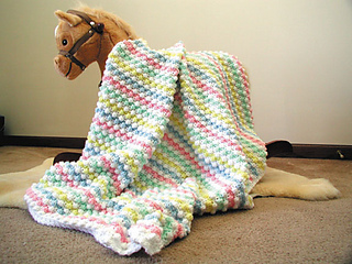 Ravelry Baby Bubbles Crochet Afghan Pattern By Caron