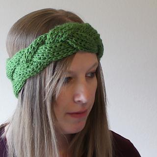 Free Crochet Braided Ear Warmer Pattern : Ravelry: Braided Headband or Earwarmer pattern by Jessy ...