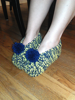 Ravelry: jvhicks Ladies House Shoes (slippers)