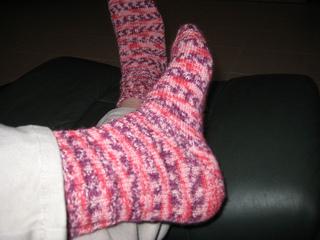Knitting Pattern For Diabetic Socks : Ravelry: Basic Sock Pattern for Diabetic Socks pattern by ...