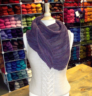 Half-crepe-shawl