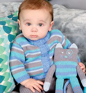 Стильное вязание для детей 8