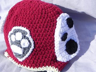 Marshall Paw Patrol Crochet Hat Pattern Free : Ravelry: Paw Patrol Hat:Chase and Marshall pattern by ...