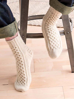 Aran Sock Knitting Pattern : Ravelry: Custom Socks: Knit To Fit Your Feet - patterns